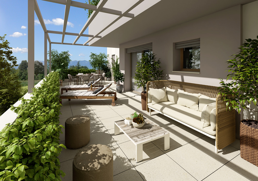 appartamenti sandrigo con giardino - Longasole D