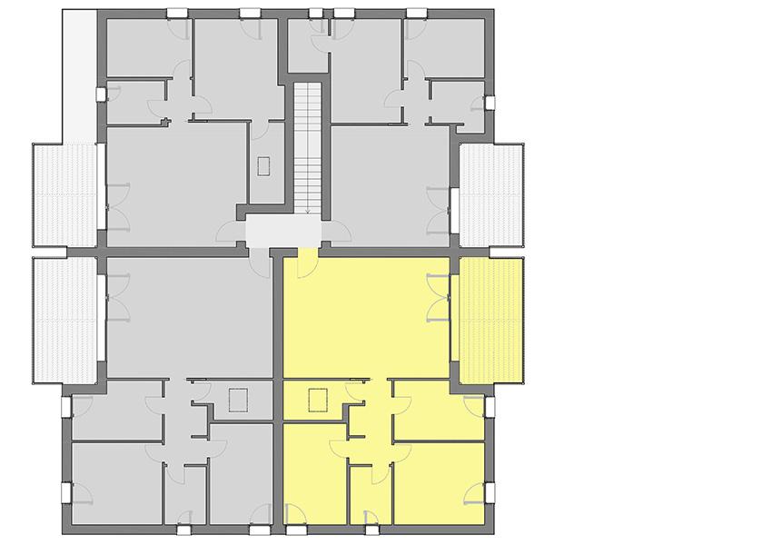 appartamento tricamere in vendita sovizzo